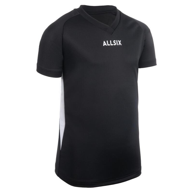 V100 Boys' Volleyball Jersey - Black