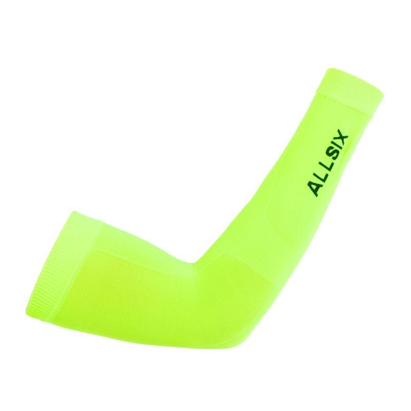 Rękawki siatkarskie Allsix VAP500 żółte