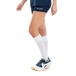 Volleybalshort dames V100 marineblauw