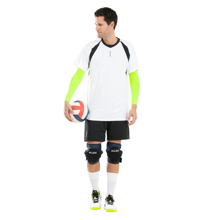 GENOUILLÈRES AJUSTABLES DE VOLLEY-BALL VKP500 NAVY