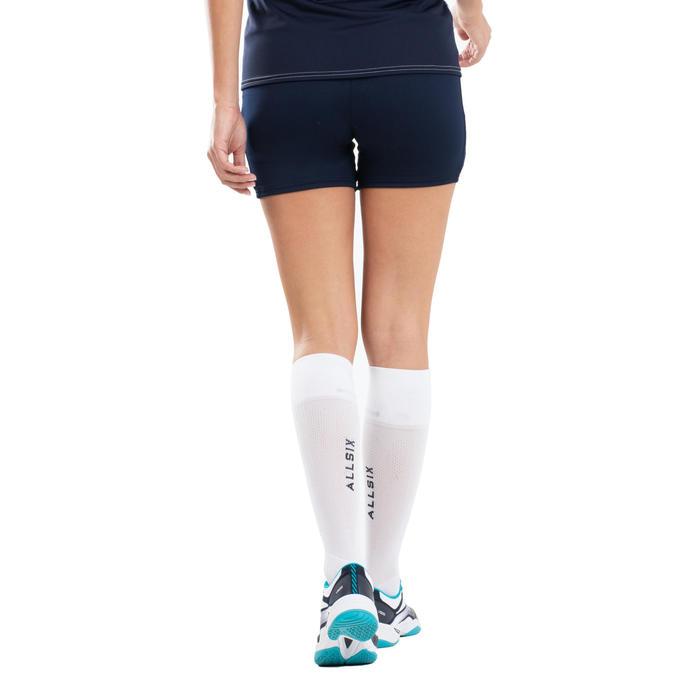 Volleybalshort voor dames VSH500 marineblauw