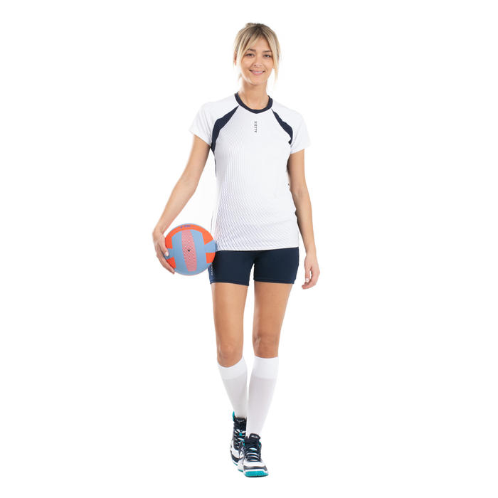 Volleybalbroekje dames VSH500 marineblauw