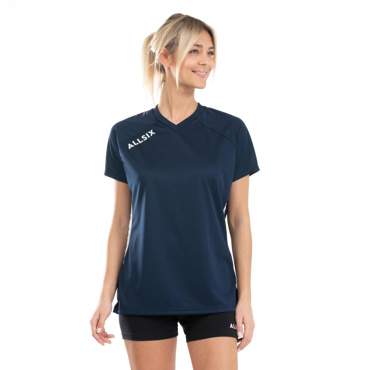 tee shirt de volleyball porté par une volleyeuse
