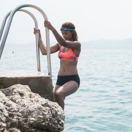 Parte de abajo de natación para mujer forma shorty Vega Negro
