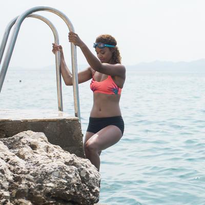 Parte inferior forma shorty de natación Vega para mujer Negro