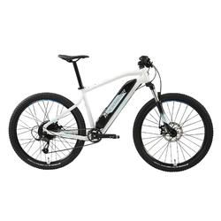 "Elektrische mountainbike dames E-ST 100 27.5"" wit"