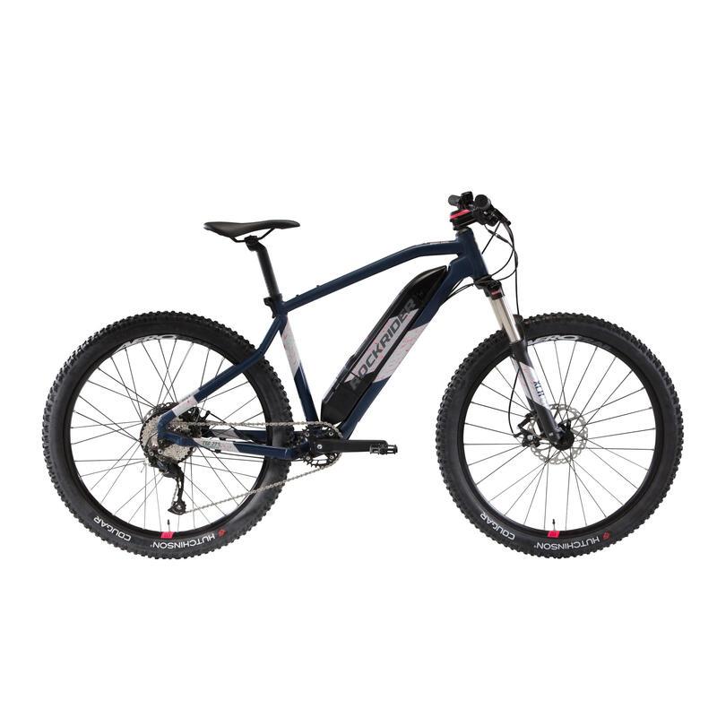 "Mtb elettrica a pedalata assistita donna E-ST 500 azzurra 27,5"""
