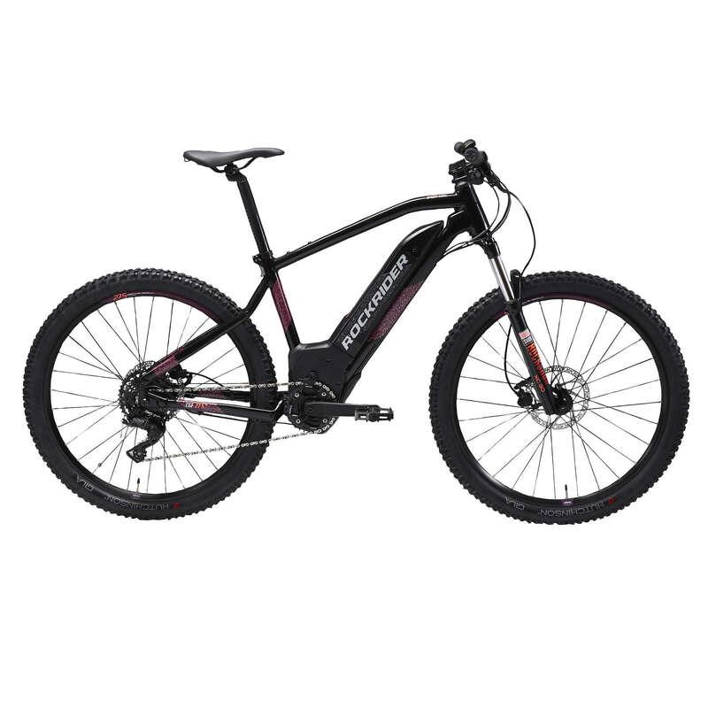 BICICLETĂ ELECTRICĂ MTB DRUMEȚIE FEMEIE Ciclism - Bicicletă MTB E- ST 520 27,5