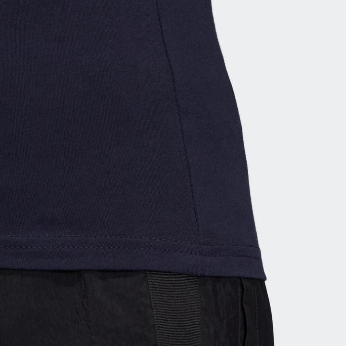 T-Shirt Slim Adidas Femme Bleu Marine