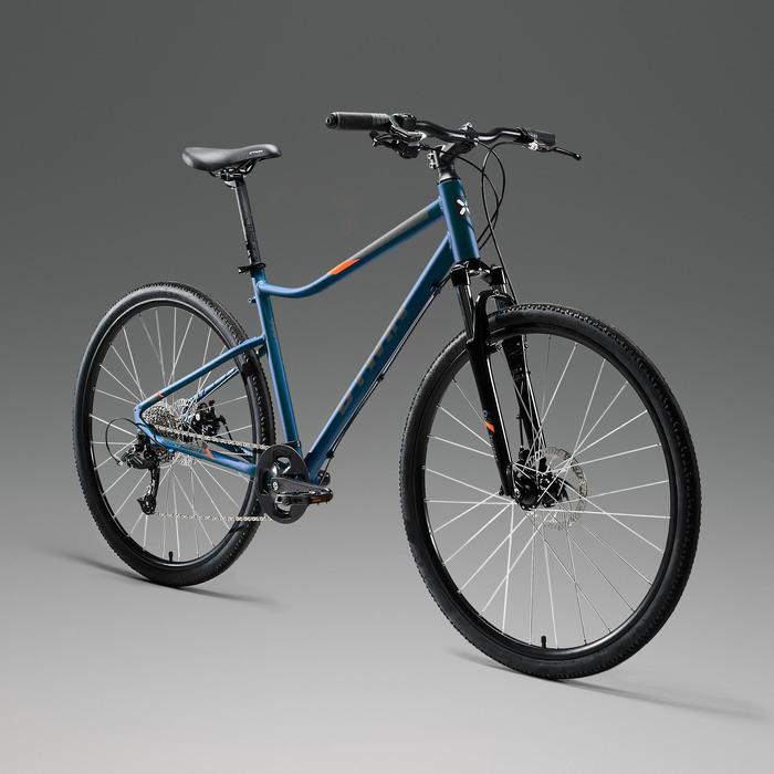 Hybridefiets Riverside 500 blauw