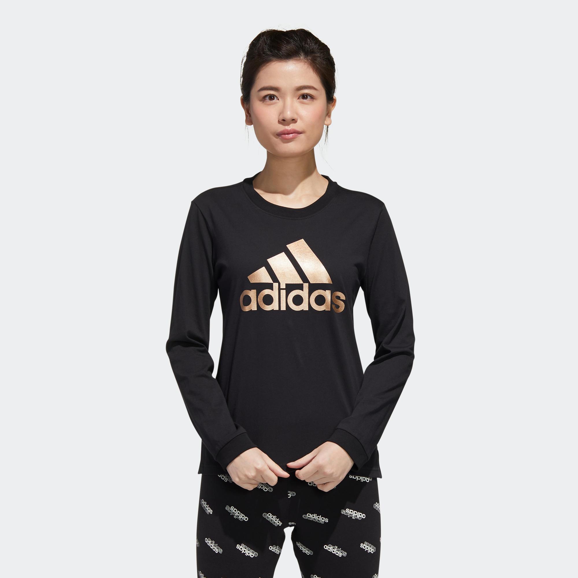 Adidas Langarmshirt Damen schwarz | Bekleidung > Shirts > Langarmshirts | Adidas