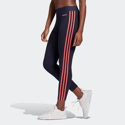 Dameslegging voor fitness en gym ESSENTIALS 3 strepen