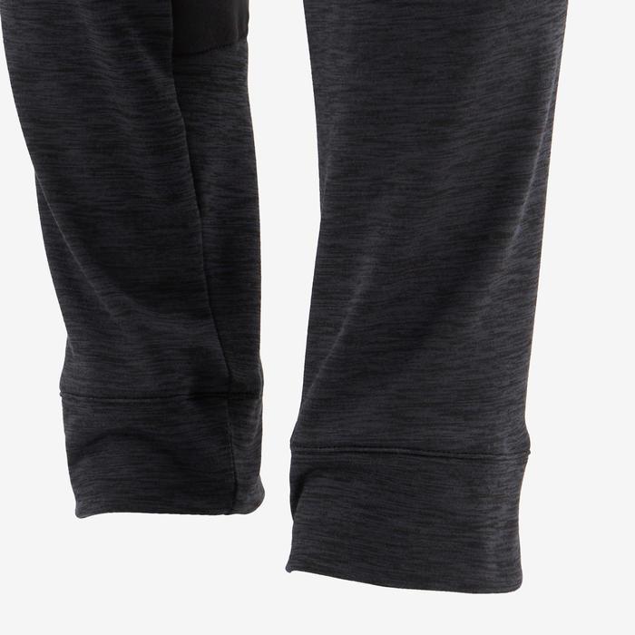 Pantalon chaud, synthétique respirant S500 garçon GYM ENFANT gris chiné foncé