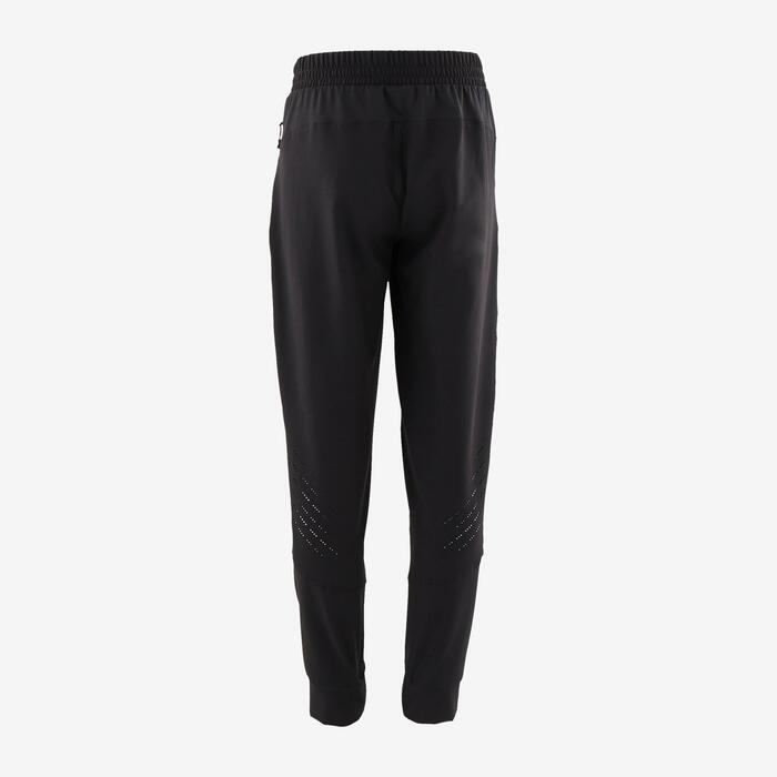 Pantalon léger et résistant noir enfant