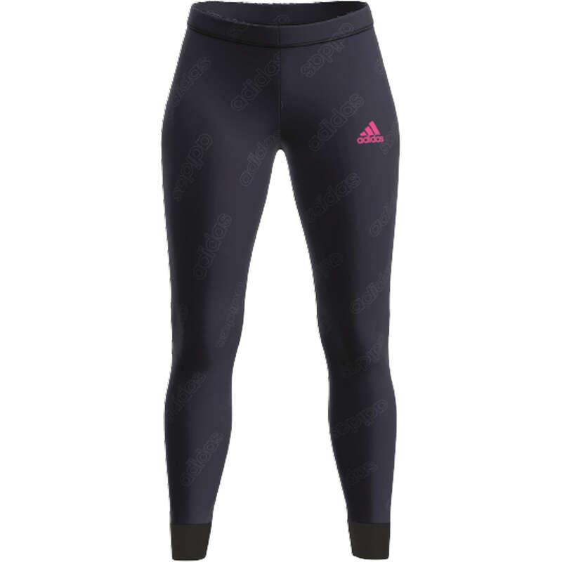 KLÄDER FÖR GYMNASTIK, PILATES, DAM Pilates - Tights Adidas logo AOP ADIDAS - Pilates