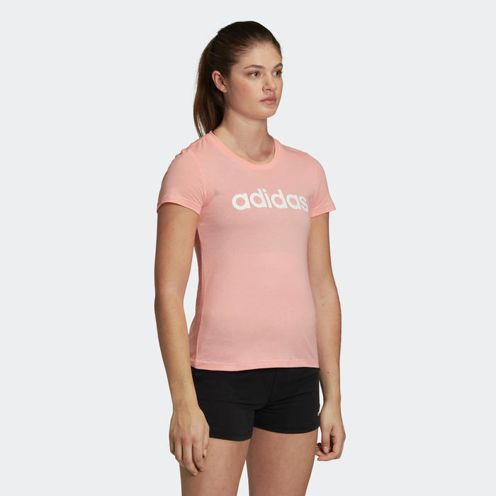 T-Shirt Adidas Femme Rose