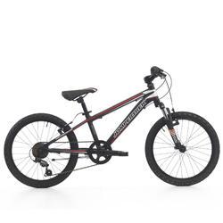 Bicicleta de niños 20 pulgadas mtb Devil 6V Roja/Negra