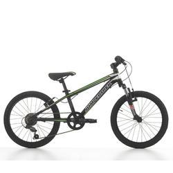 Bicicleta de niños 20 pulgadas mtb Devil 6V Verde/Negra