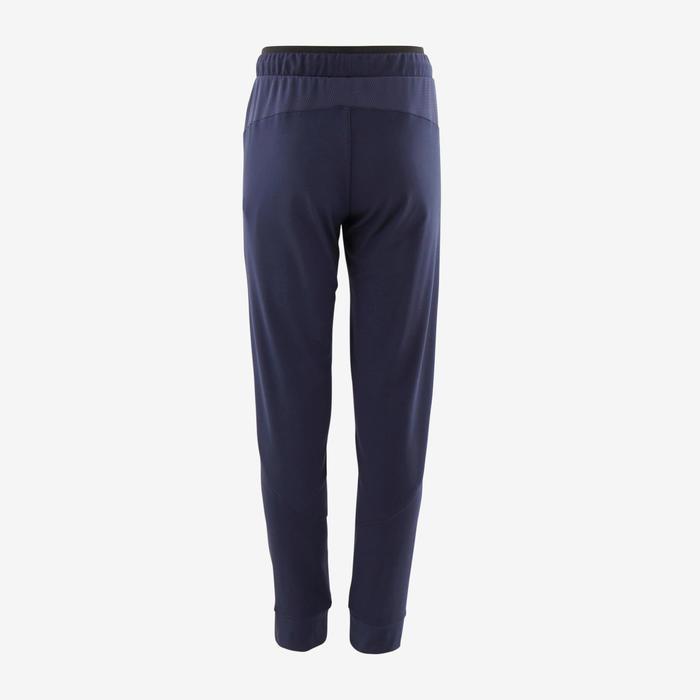 Pantalon chaud, synthétique respirant S500 garçon GYM ENFANT marine uni