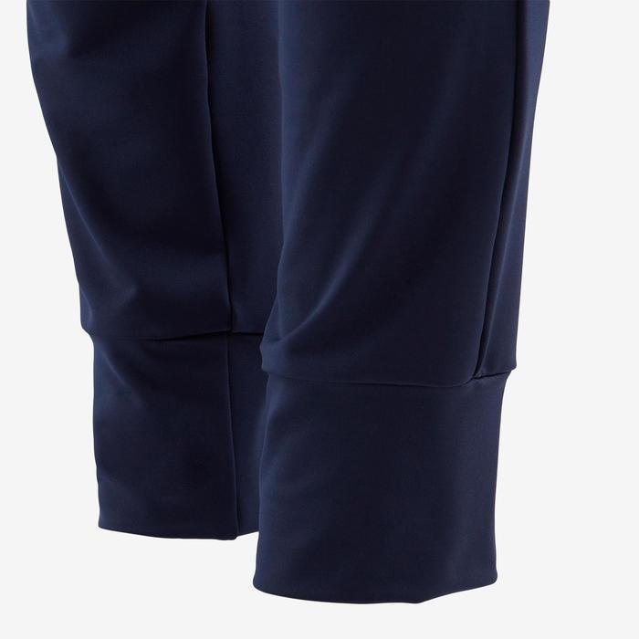 Pantalon de jogging léger large respirant marine ENFANT