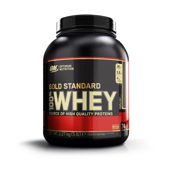 Eiwitten Gold Whey Standaard double rich chocolat 2,2 kg