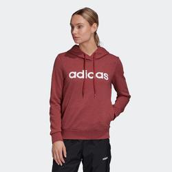 Sweat à Capuche Adidas Femme Bordeaux
