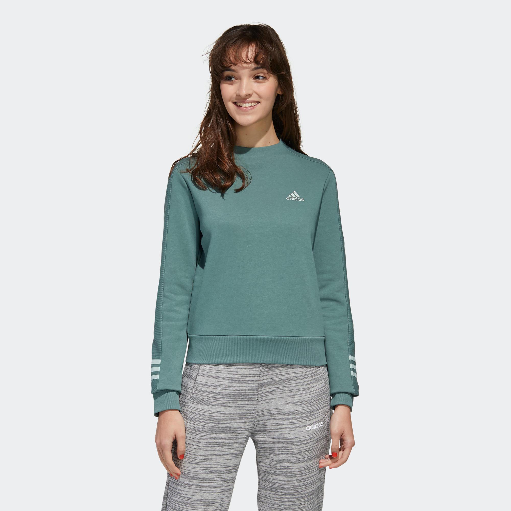 apasionado Ruina Dar  Sudadera deportiva Adidas mujer verde ADIDAS | Decathlon