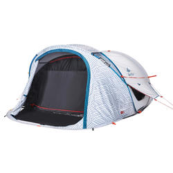 2 PERSON 2 SECONDS CAMPING TENT - FRESH&BLACK XL - CHINA BLUE
