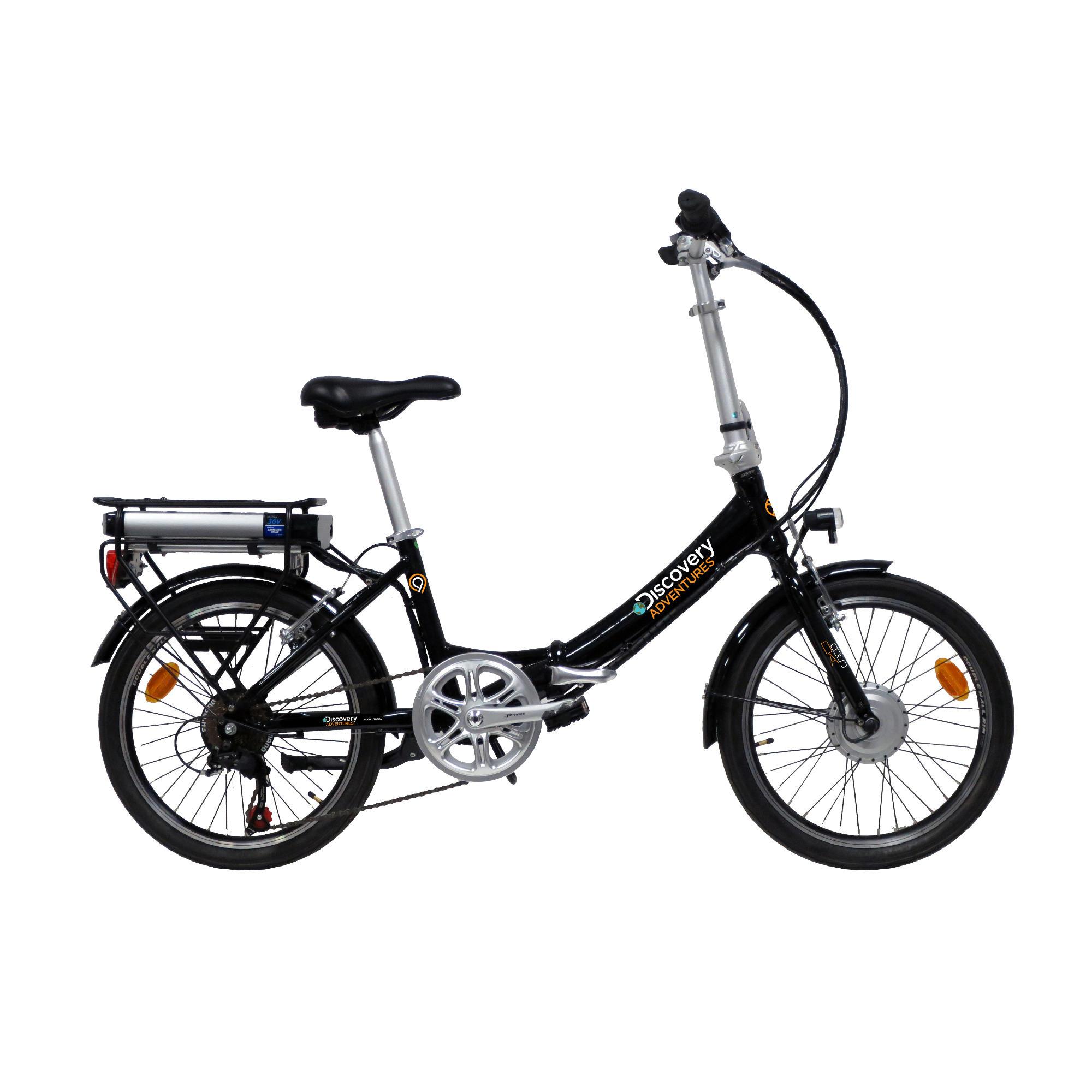 Bicicleta eléctrica plegable Discovery Adventures E2000
