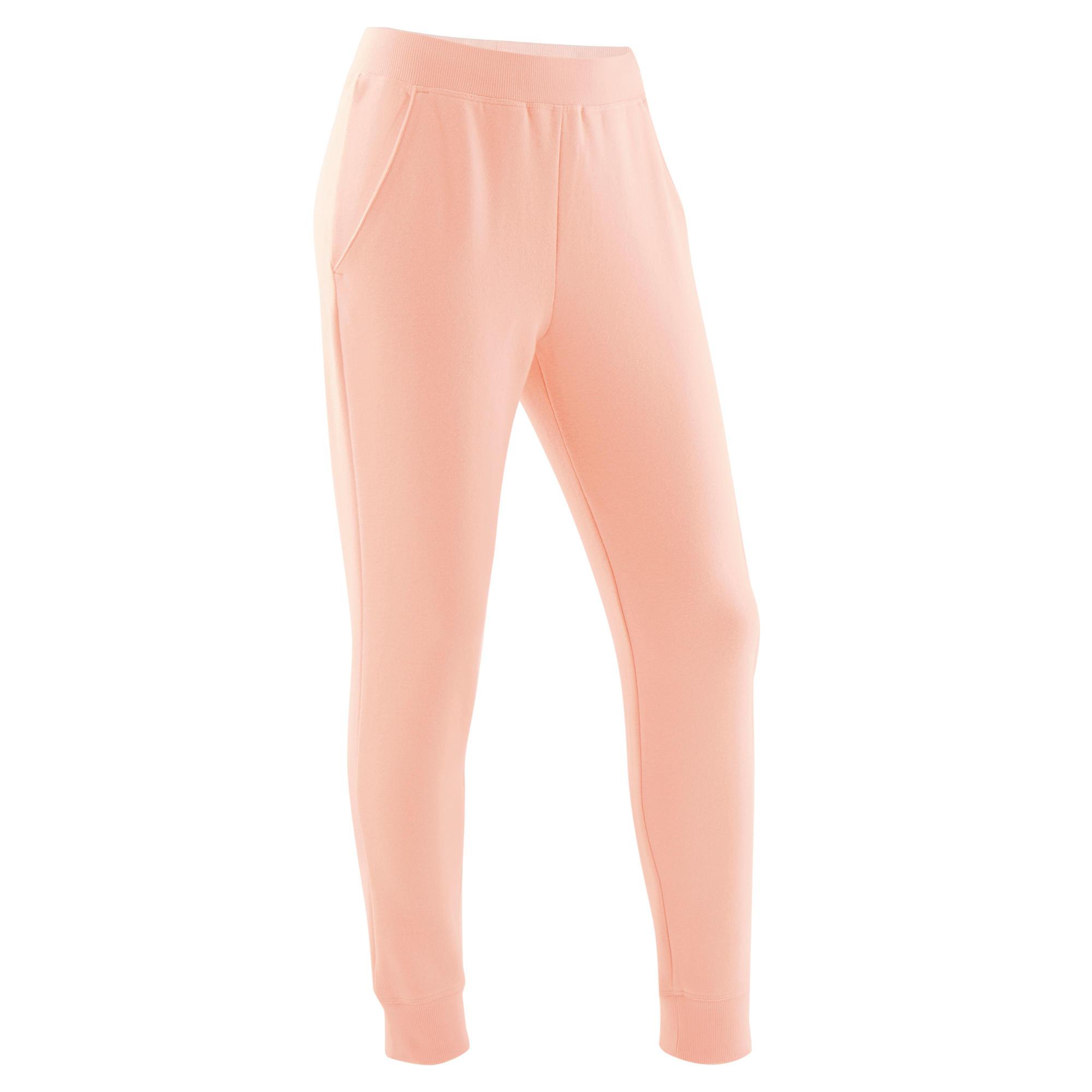 Pantalon 100 roz fluorescent