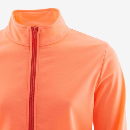 Спортивний костюм Gym'y S500 для дівчат, теплий - Кораловий/Темно-синій