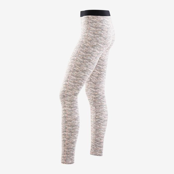 Legging coton respirant 500 fille GYM ENFANT rose full imprimé