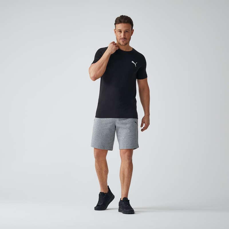 T-SHIRT E SHORT UOMO Ginnastica, Pilates - Pantaloncini uomo ACTIVE grigi PUMA - Abbigliamento uomo