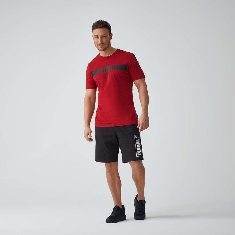 T-SHIRT SHORT DLA MĘŻCZYZN Fitness, siłownia - Spodenki PUMA  PUMA - Odzież i buty fitness