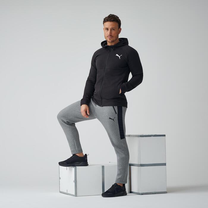 compromiso Oh querido Horizontal  Pantalón jogger Puma hombre gris PUMA | Decathlon