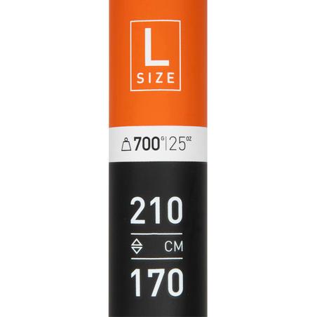 500 STAND UP PADDLE ADJUSTABLE CARBON FIBREGLASS SHAFT 170-210 CM - L