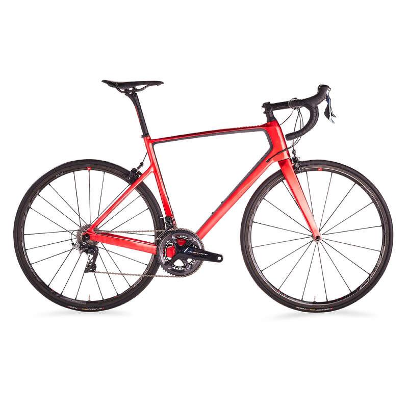 LANDSVÄGSCYKLAR CYKELSPORT Cykelsport - EDR 940 CF röd VAN RYSEL - Cykelsport