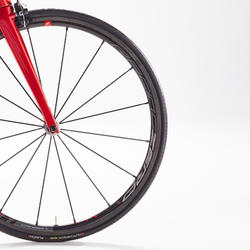 VELO ROUTE EDR CF DURA ACE rouge