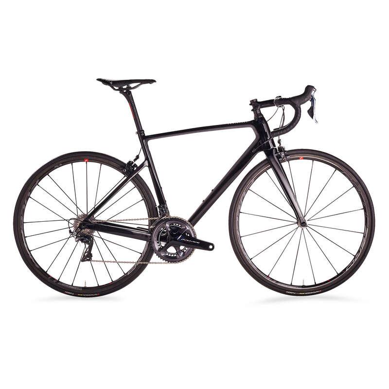 FÉRFI ORSZÁGÚTI KERÉKPÁROK Kerékpározás - Országúti kerékpár EDR 940 CFC VAN RYSEL - Kerékpár