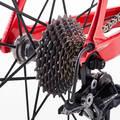 PÁNSKÁ SILNIČNÍ ZÁVODNÍ KOLA Cyklistika - KOLO EDR 940 CF ČERVENÉ VAN RYSEL - Jízdní kola