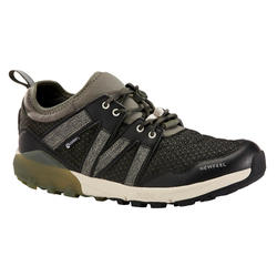 Zapatillas Marcha Nórdica NW 580 Hombre Caqui Impermeables