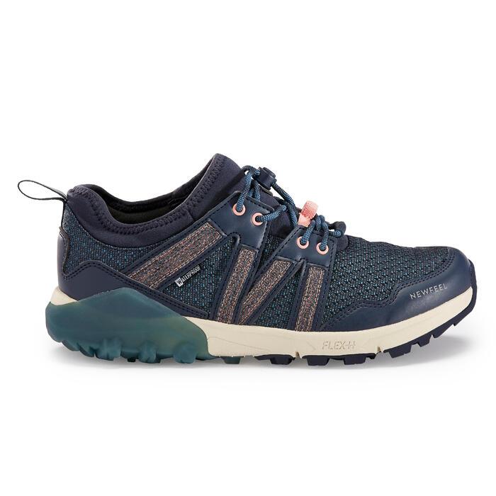 Chaussures de marche nordique NW 580 Flex-H bleue