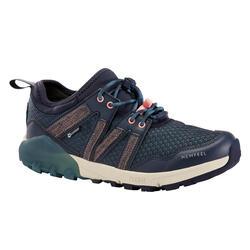 Zapatillas Marcha Nórdica NW 580 Azul Impermeables