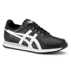 Herensneakers voor sportief wandelen Tiger zwart