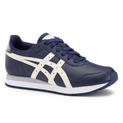 Damessneakers voor sportief wandelen Tiger marineblauw