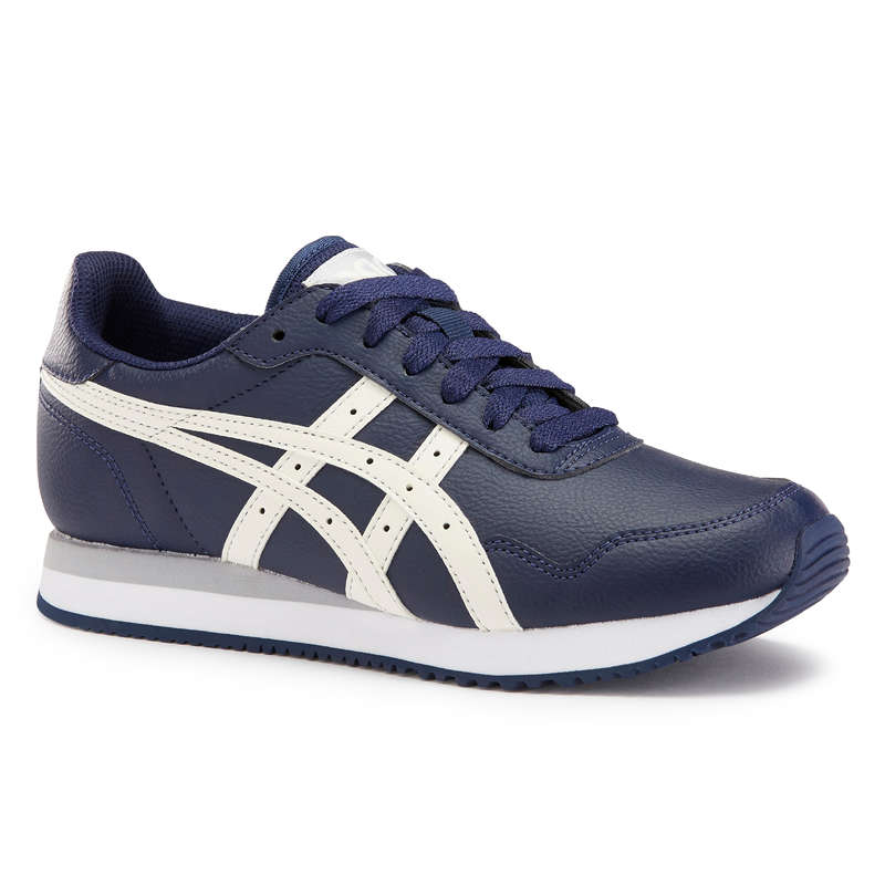 WALKINGSKOR DAM Typ av sko - Tiger marinblå ASICS - Sneakers