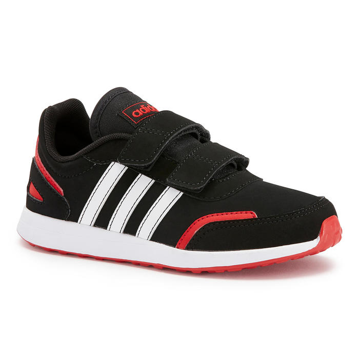 Chaussures marche enfant Adidas Switch noir / rouge scratch