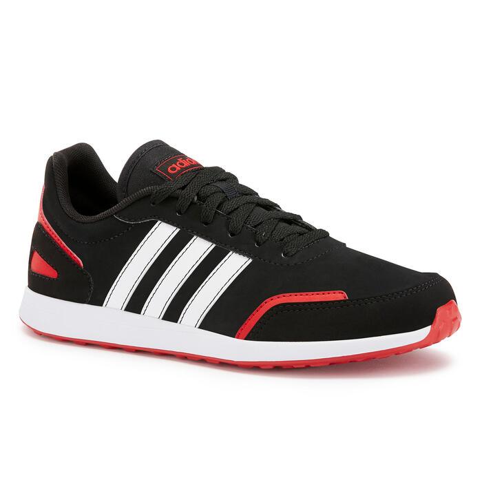 Chaussures marche enfant Adidas noir / rouge lacets