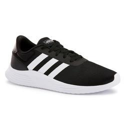 Chaussures marche sportive homme Lite Racer noir ADIDAS | Decathlon