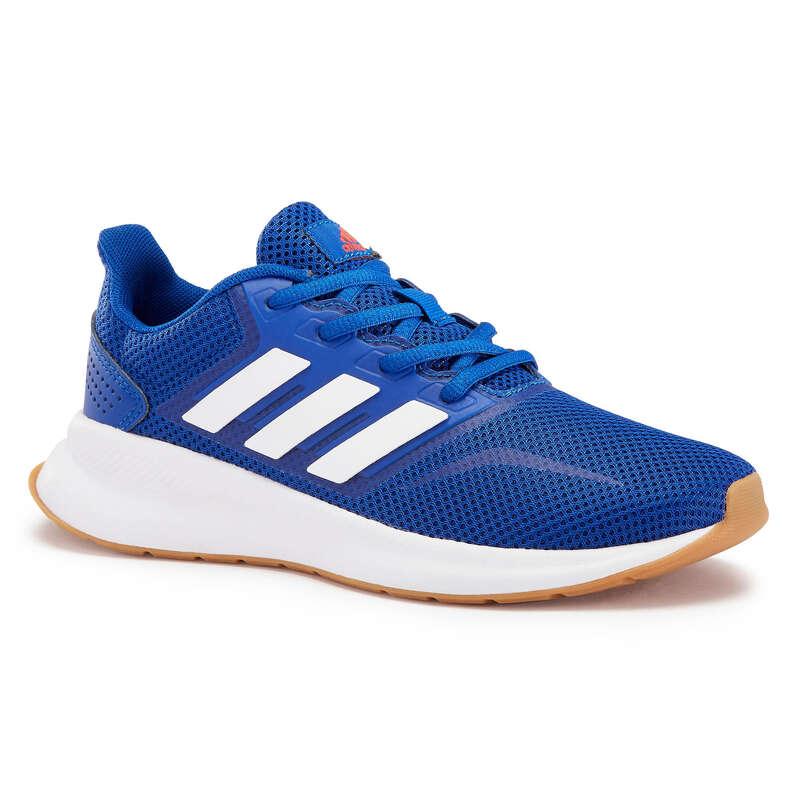 WALKINGSKO JUNIOR Barnskor - Sneakers Adidas Falcon JR blå ADIDAS - Typ av sko